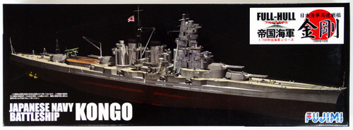 Fujimi FHSP-01 IJN BattleShip Kongo Full Hull Model w/Etching Parts 1/700 Scale Kit