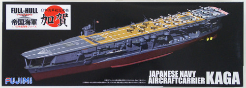 Fujimi FH-22 IJN Japanese Navy Aircraftcarrier Kaga (Full Hull) 1/700 Scale Kit
