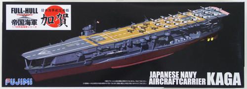 Fujimi FH-22 IJN Japanese Navy Aircraftcarrier Kaga (Full Hull) 1/700 Scale Kit