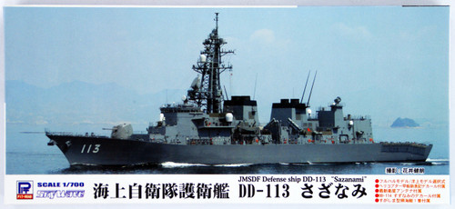 Pit-Road Skywave J-67 JMSDF Defense Ship DD-113 Sazanami 1/700 Scale Kit