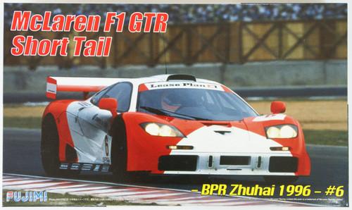 Fujimi RS-07 McLaren F1 GTR Short Tail BPR Zhuhai 1996 #6 1/24 Scale Kit 126012