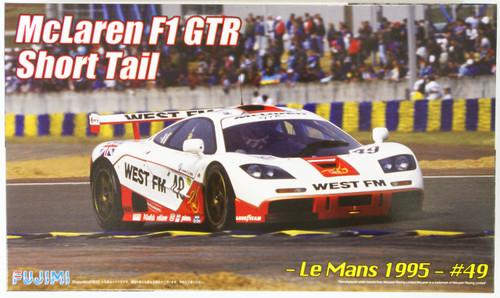 Fujimi RS-26 McLaren F1 GTR Short Tail Le Mans 1995 #49 1/24 Scale Kit 126029
