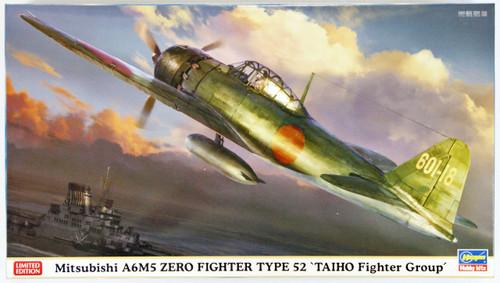 Hasegawa 07385 Mitsubishi A6M5 Zero Fighter Type 52 Taiho Fighter Group 1/48 Scale Kit