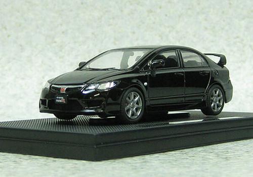 Ebbro 44884 Honda Civic Type-R FD2 late version Black 1/43 Scale