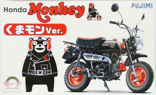 Fujimi Bike-20 Honda Monkey Kumamon Version 1/12 Scale Kit