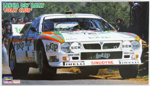Hasegawa 20214 Lancia 037 Rally Jolly Club 1/24 Scale Kit