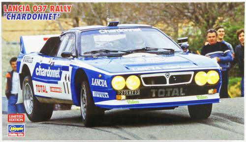 Hasegawa 20264 Lancia 037 Rally Chardonnet 1/24 Scale Kit