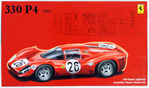 Fujimi RS-48 Ferrari 330 P4 1967 1/24 Scale Kit 125756