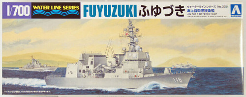Aoshima Waterline 08171 JMSDF Japanese Defense Ship FUYUZUKI 1/700 Scale Kit