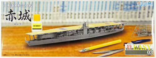Fujimi TOKU-Easy 03 IJN Aircraft Carrier Akagi 1/700 Scale Kit