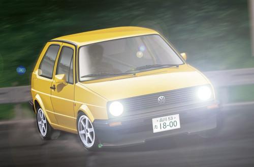 Fujimi TOHGE-12 Volkswagen Golf II GTI 1/24 Scale Kit