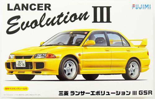 Fujimi ID-34 Mitsubishi Lancer Evolution III GSR 1/24 Scale Kit 039176