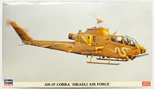 Hasegawa 02130 AH-1F Cobra Israeli Air Force (2 Helicopter Kit) 1/72 Scale Kit