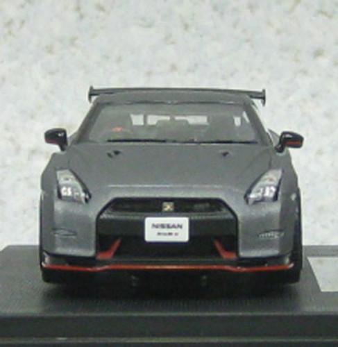 Ebbro 45163 Nissan GT-R NISMO N Attack (Dark Mat Gray) 1/43 Scale