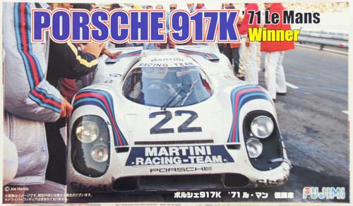 Fujimi RS-88 Porsche 917K 1971 Le Mans Winner Car 1/24 Scale Kit 126142