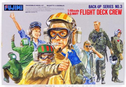 Fujimi Bup03 350035 US Navy Flight Deck Crew 1/48 Scale Kit