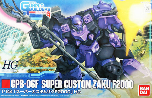 Bandai HG GB 003 Gundam GPB-06F SUPER CUSTOM ZAKU F2000 1/144 Scale Kit
