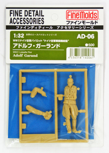 Fine Molds AD6 WW2 German Ace Pilot Adolf Garland 1/32 scale kit