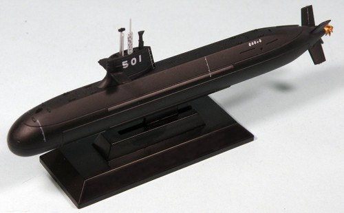 Pit-Road Skywave J-73 JMSDF Submarine Ship SS-501 Soryu Class 1/700 Scale Kit