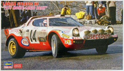 Hasegawa 20268 Lancia Stratos HF 1977 Monte-Carlo Rally 1/24 Scale Kit