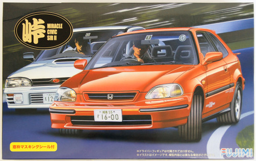 Fujimi TOHGE-13 Honda Miracle Civic SIR II 1/24 Scale Kit