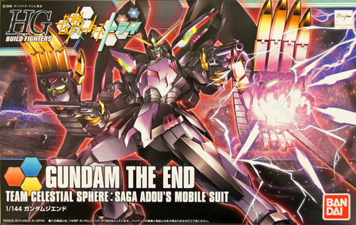 Bandai HG Build Fighters 036 Gundam THE END 1/144 Scale Kit