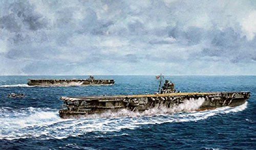 Fujimi TOKU SP44 IJN Imperial Japanese Navy Aircraft Carrier Hiryu & Soryu with Decal 1/700 Scale Kit