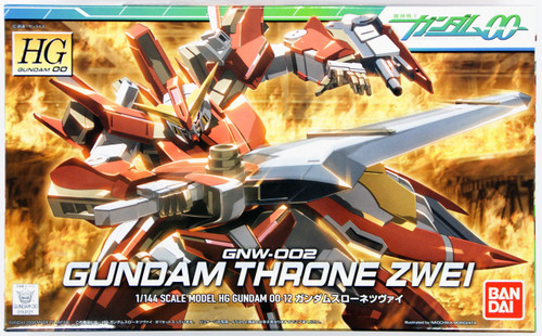 Bandai HG OO 12 Gundam THROne ZWEI 1/144 Scale Kit