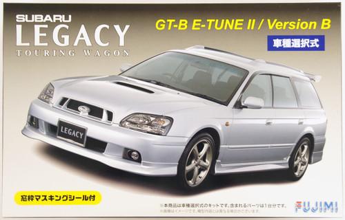Fujimi ID-77 Subaru Legacy Touring Wagon GT-B E-tune II or Version B 1/24 Scale convertible Kit 039312