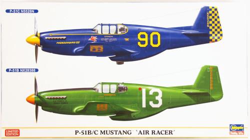 Hasegawa 02155 P-51B/C Mustang Air Racer (2 planes) 1/72 Scale Kit
