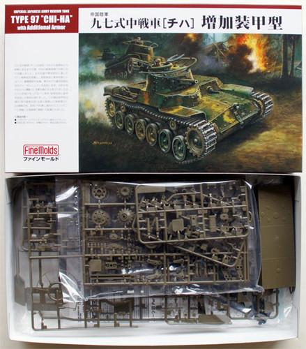 Fine Molds FM27 Japanese Tank Type 97 CHI-HA 1/35 Scale Kit