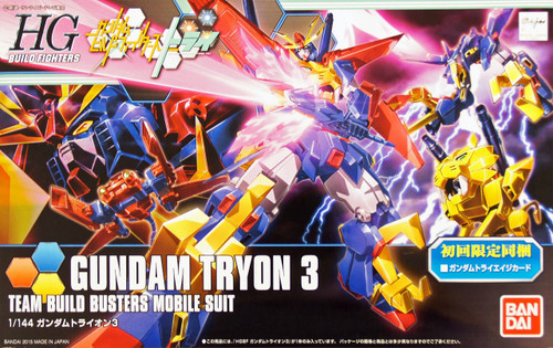 Bandai HG Build Fighters 038 Gundam Gundam TRYON 3 1/144 Scale Kit