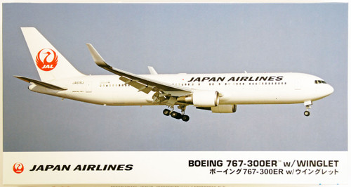 Hasegawa 10812 JAL Japan Airlines Boeing 767-300ER with Winglet (Limited Edition) 1/200 Scale Kit