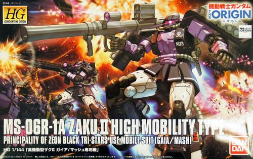 Bandai 966964 Gundam The Origin 003 MS-06R-1A ZAKU II 1/144 Scale Kit