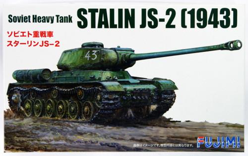 Fujimi SWA27 Special World Armor Soviet Heavy Tank Stalin JS-2 1943 1/76 Scale Kit