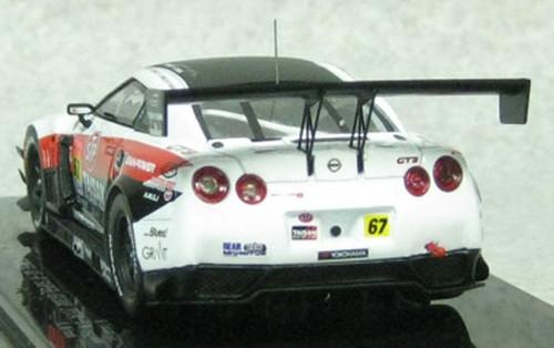 Ebbro 45085 STP TAISAN GAIA POWER GT-R SUPER GT300 2014 No.67 Wihte 1/43 Scale
