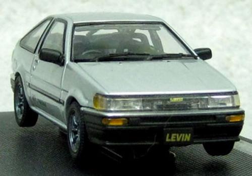 Ebbro 45186 Corolla Levin 1600 GTV with alloy wheel Silver 1/43 Scale