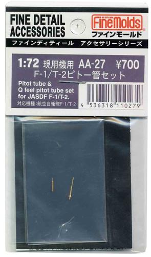 Fine Molds AA27 Pitot Tubes & Q Feel Pitot Tube Set for JASDF F-1 / T-2