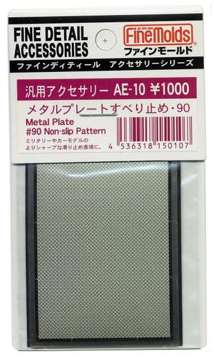 Fine Molds AE10 Metal Plate #90 Non-Slip Pattern Fine Detail Accessories Series