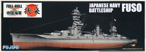 Fujimi FH-31 IJN Japanese Navy BattleShip FUSO (Full Hull) 1/700 Scale Kit