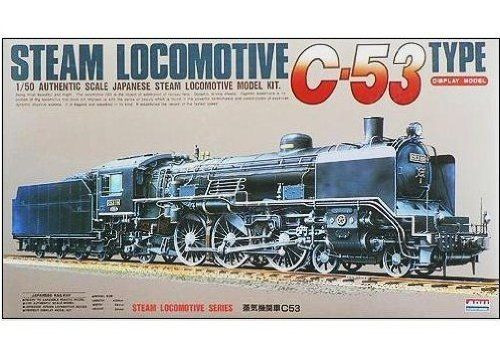 Arii 356067 Japanese Steam Locomotive C-53 Type 1/50 Scale Kit (Microace)