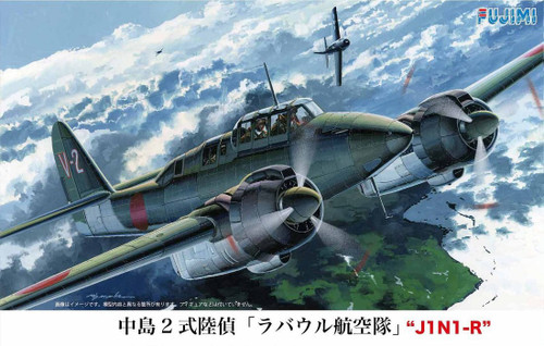 Fujimi C19 Nakajima Type 2 J1N1-R Rabaul 1/72 Scale Kit 722719