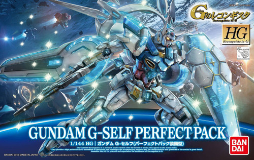 Bandai Reconguista in G G017 Gundam G-self Perfect Pack 006367 1/144 Scale Kit
