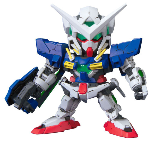 Bandai SD BB 334 Gundam Gundam Exia Repair II Plastic Model Kit