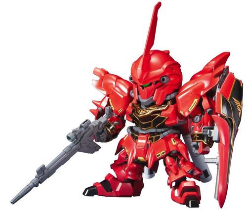 Bandai SD BB 365 Gundam MSN-06S Sinanju Plastic Model Kit