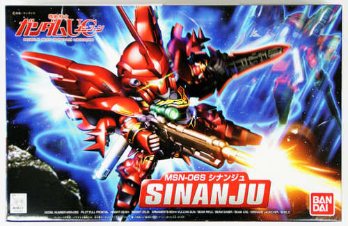 Bandai SD BB 365 Gundam MSN-06S Sinanju Plastic Model Kit