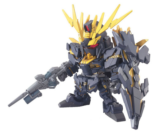 Bandai SD BB 380 Gundam RX-0 Unicorn Gundam 02 Banshee Plastic Model Kit