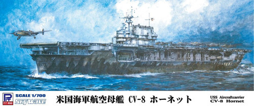 Pit-Road Skywave W-169 Aircraft Carrier CV-8 Hornet 1/700 Scale Kit