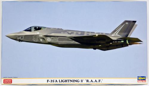Hasegawa 02168 F-35A Lightning II R.A.A.F 1/72 Scale Kit
