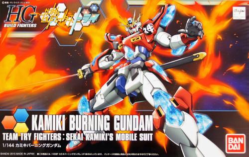 Bandai HG Build Fighters 043 KAMIKI BURNING Gundam 1/144 Scale Kit
